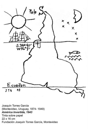 Fun Fact Thanks to this map Latin America039s importance was regenerated