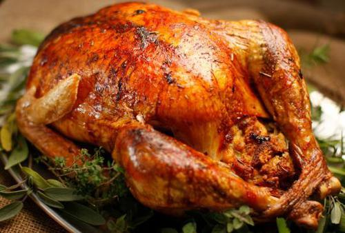 Food and Drink Latin Inspired Thanksgiving Recipe 1 Pavochograven Roasted Turkey
