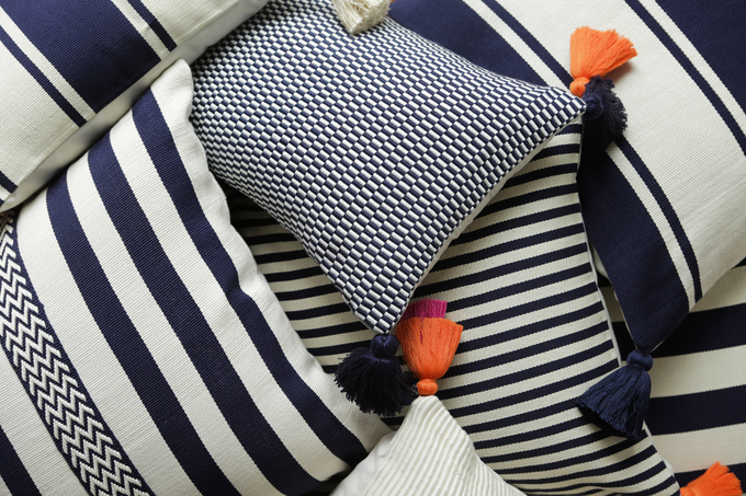 Organic Pima Cotton Pillows from Lima, Peru, Just in